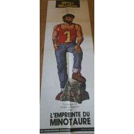 l'empreinte du minotaure Affiche : L'Empreinte Du Minotaure De Marc Mathieu (Humanoïdes Associés) 140x40