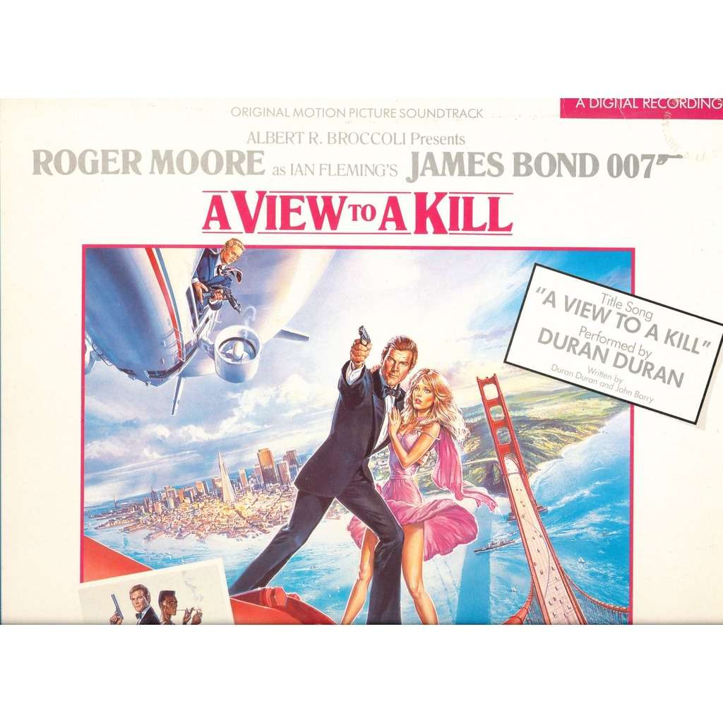 a view to a kill james bond 007 by john barry
