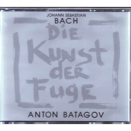 ANTON BATAGOV Bach Die Kunst der Fuge / Art of Fugue 2CD