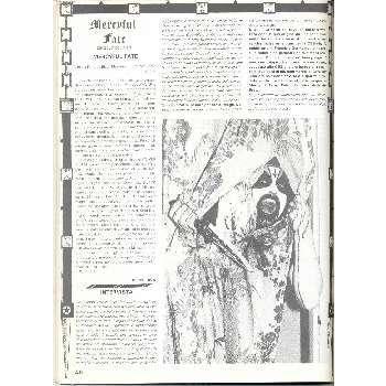 Mercyful Faith ROCKERILLA(N.41 JAN.1984) (ITALIAN 1984 MUSIC MAGAZINE)