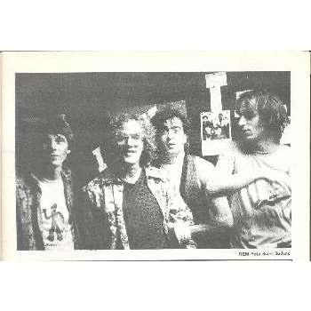 rem: r.e.m. ROCKERILLA (N.41 JAN.1984) (ITALIAN 1984 MUSIC MAGAZINE)