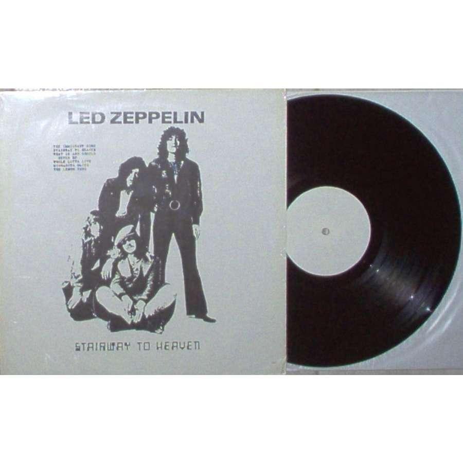 Led Zeppelin Stairway To Heaven (Japan Ltd live LP on JL lbl deluxe ps)