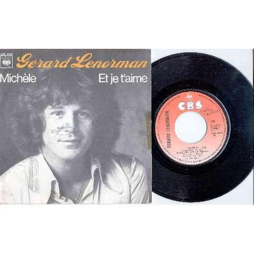 Gerard Lenorman MICHELE (FRENCH 1976 2-TRK 7 FULL PS)