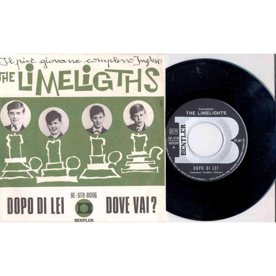Adriano Celentano / The Limelights DOPO DI LEI (ITALIAN 1967 2-TRK 7 SINGLE FULL PS)