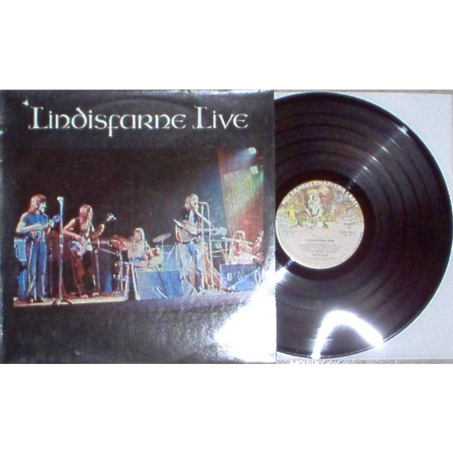 Lindisfarne Lindisfarne Live (Italian 1973 7-trk LP full ps)
