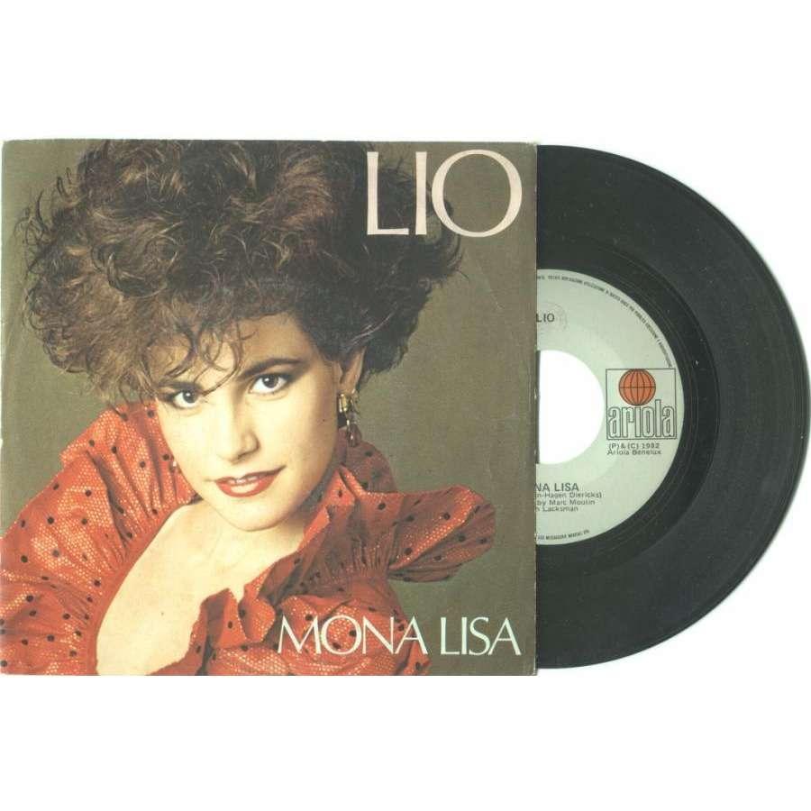 lio Mona Lisa (Italian 1982 2-trk 7single full ps)