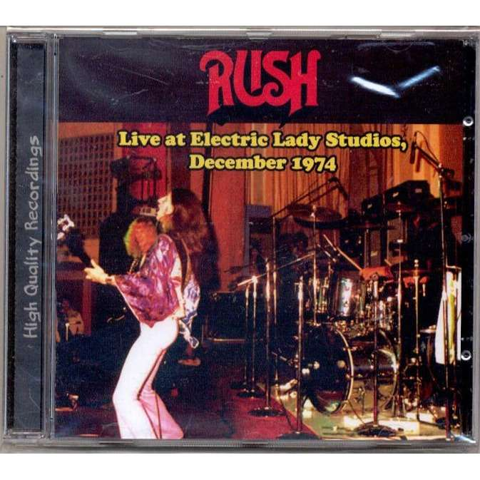 rush Live at Electric Lady Studios (05.12.1974)