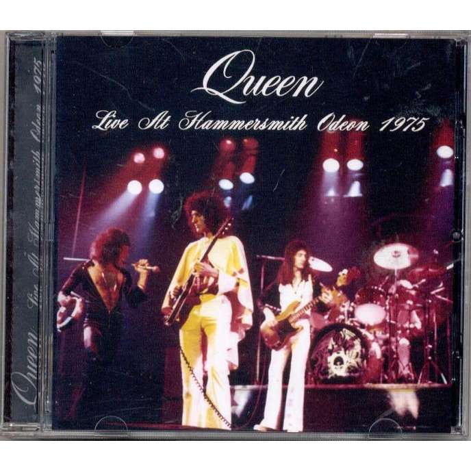 Live At Hammersmith Odeon 1975 Uk 24 12 1975 By Queen
