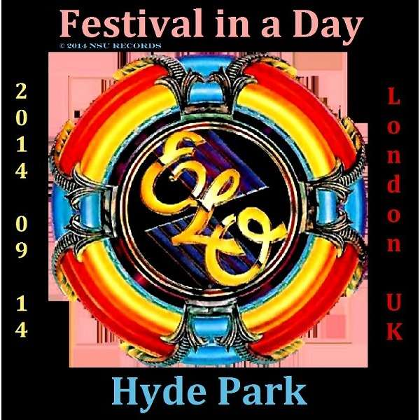 Live In Hyde Park 2014 By Electric Light Orchestra Cd X 2