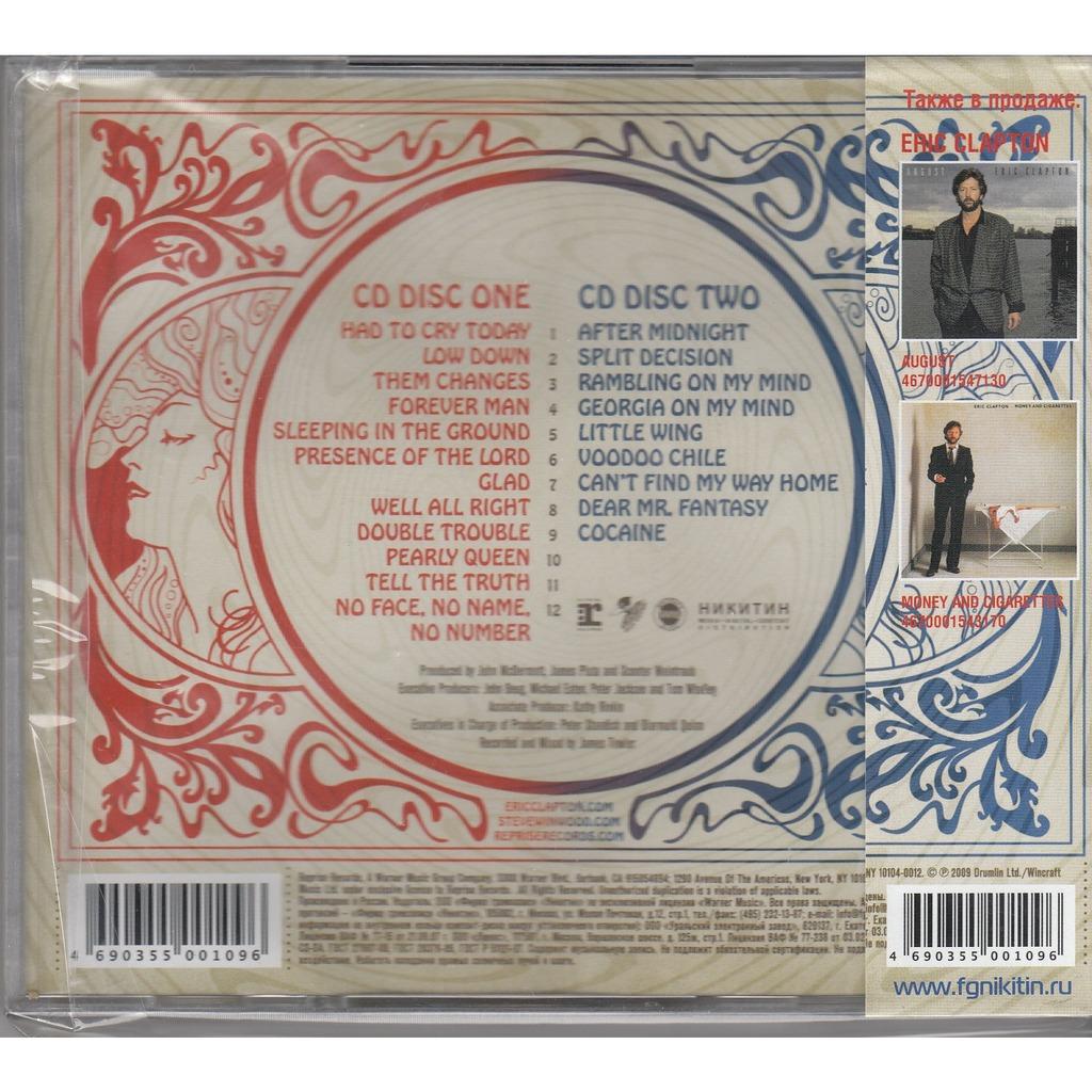 Eric Clapton Steve Winwood Live From Madison Square Garden 2cd Nikitin Gold Obi