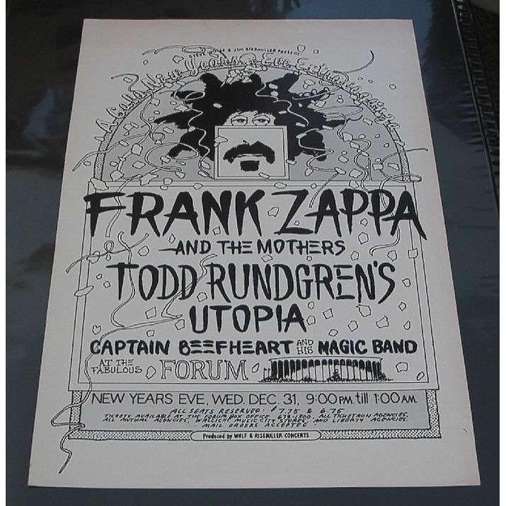 Los Angeles Forum 31 12 1975 Usa 1975 Original Art