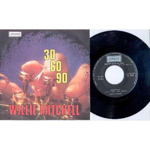 Willie Mitchell 30-60-90 (ITALIAN 1968 2-TRK 7 SINGLE FULL GREAT PS)