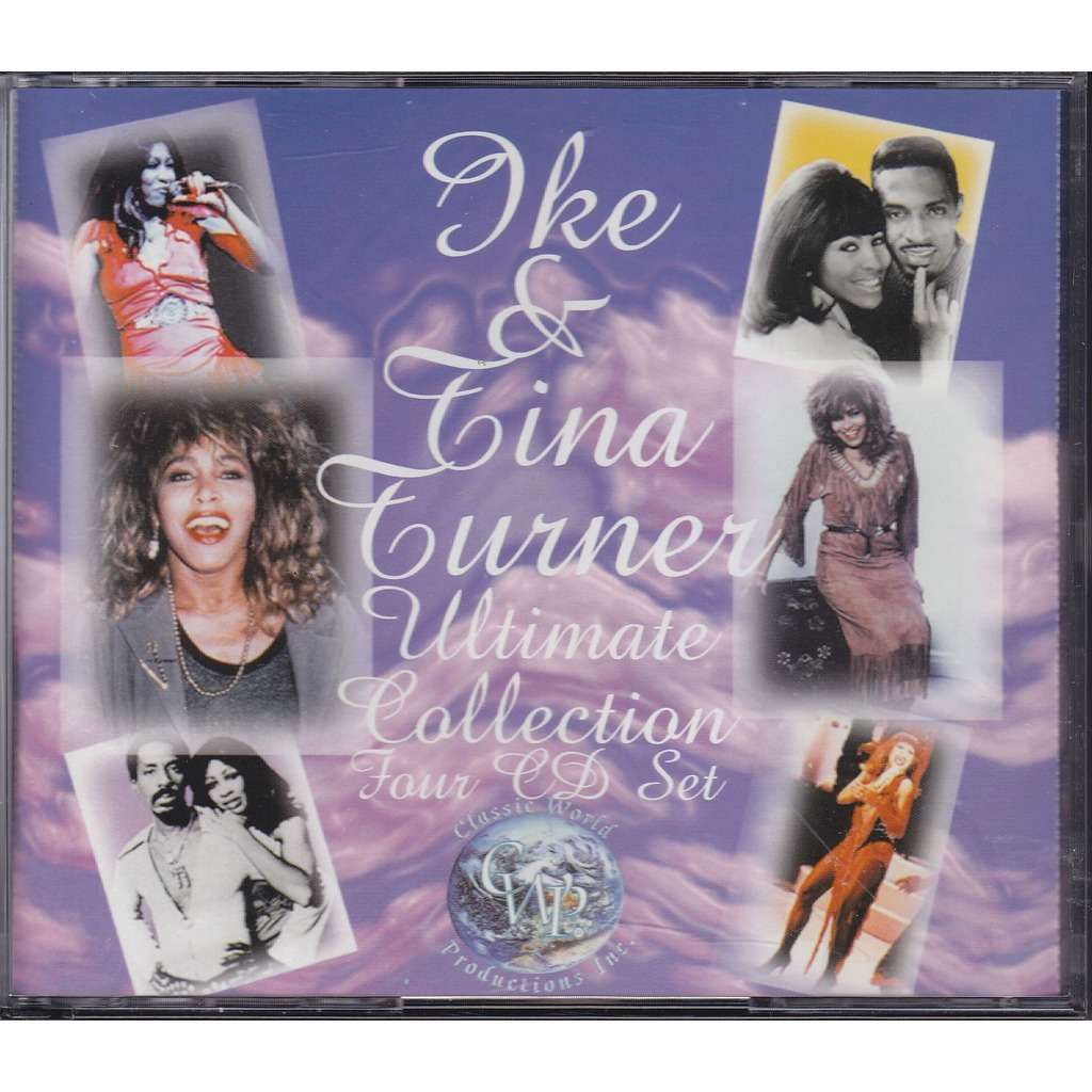 Ultimate Collection 4cd By Ike Amp Tina Turner Cd X 4 With