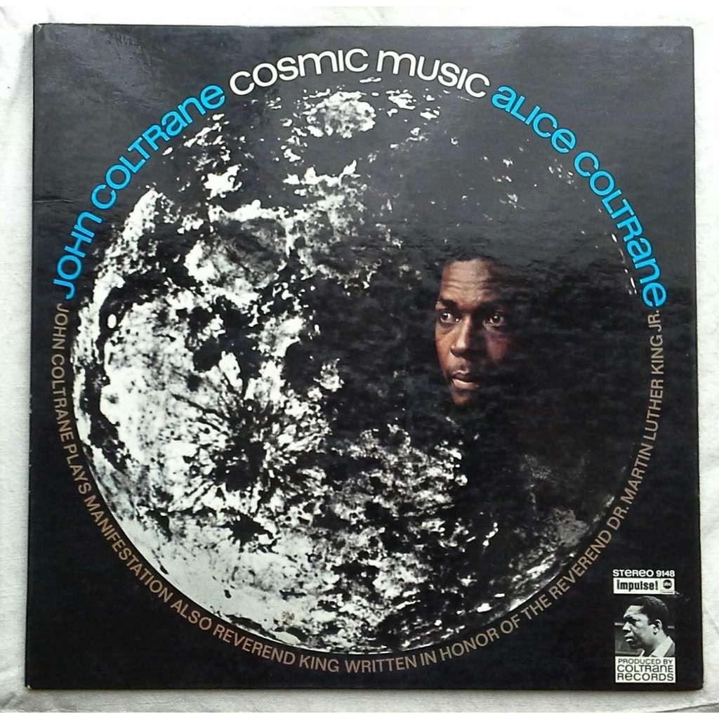 Cosmic Music By John Coltrane Amp Alice Coltrane Lp