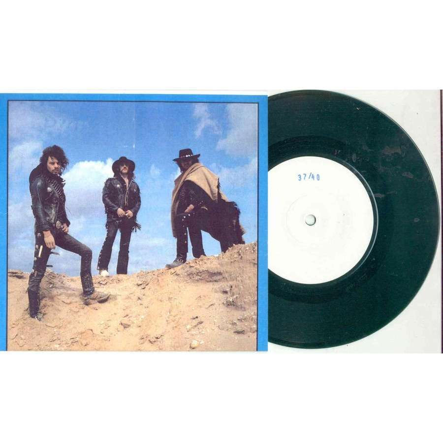 ace of spades (ltd 40 copies w/label 7single green vinyl test press