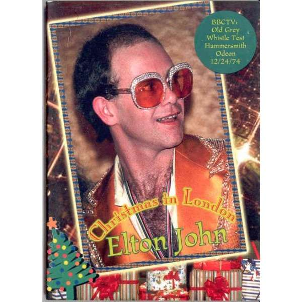 Elton John Christmass In London Hammersmith Odeon 12 24 1974 Etc
