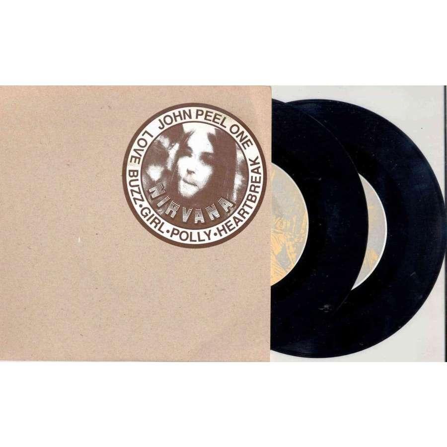 Nirvana John Peel One & Two (Euro Ltd live 7-trk 2x 7Singles set stickered ps)