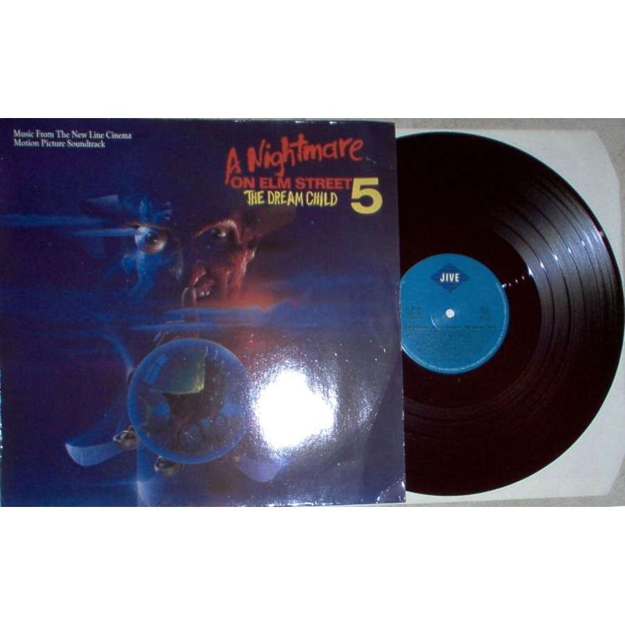 IRON MAIDEN A Nightmare On Elm Street The Dream Child 5 (German 1989 OST 10-trk LP full ps)