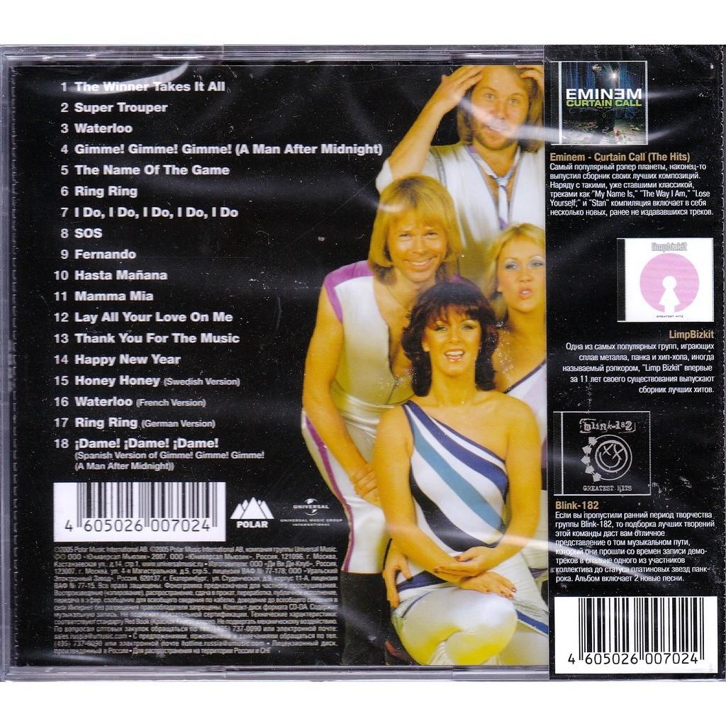 ABBA 18 Hits OBI RUS