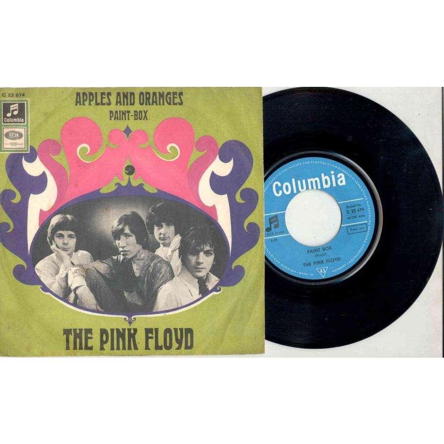 Pink Floyd Apples & Oranges (German 1967 2-trk 7single absolutely unique full ps)