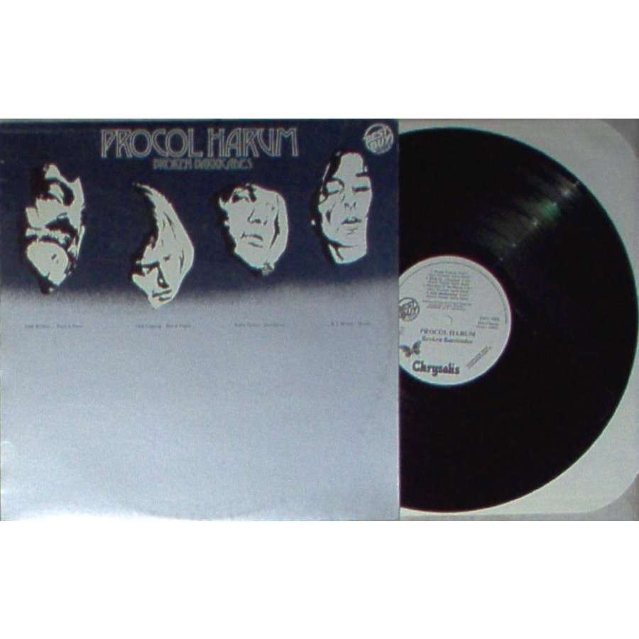 Procol Harum Broken Barricades (Italian 1982 'Best Buy Series' 8-trk w/label LP promo full ps)