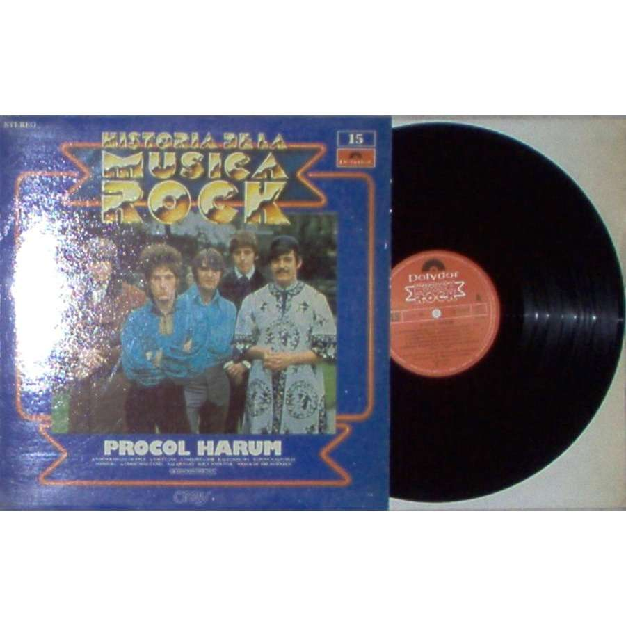 Procol Harum Historia de la Musica Rock (Spanish 1982 10-trk LP full unique ps)