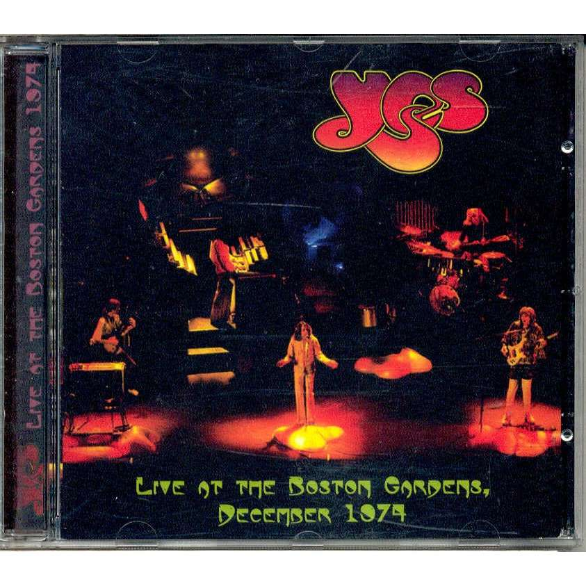 YES Live At The Boston Garden (December 1974)