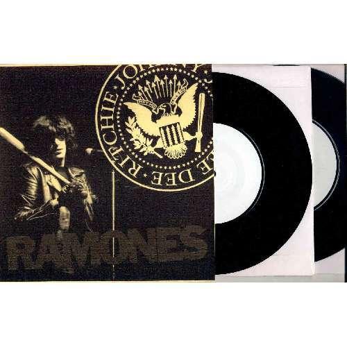 Ramones LONDON LYCEUM (26.02.85) (LTD 30 COPIES 3-SIDED W/L 9-TRK LIVE 2X 7single TEST PRESS PS)