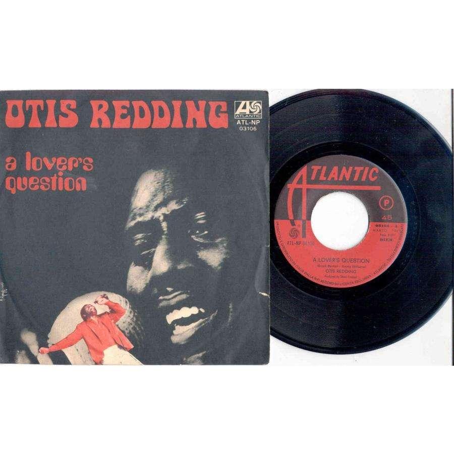 Otis Redding LOVER'S QUESTION (ITALIAN 1969 2-TRK 7 FULL PS)