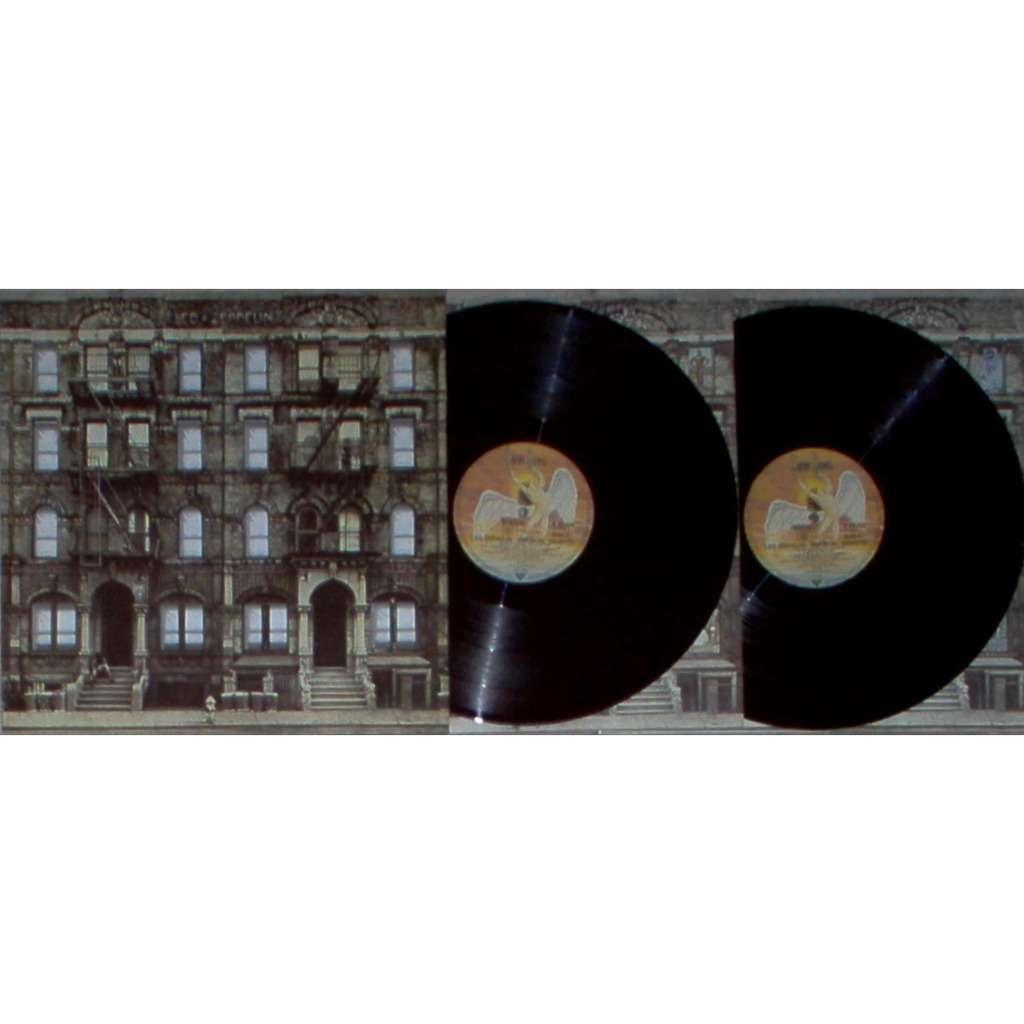 Led Zeppelin Physical Graffiti (German 1975 original 15-trk 2lp die-cut ps + inner slvs + insert)