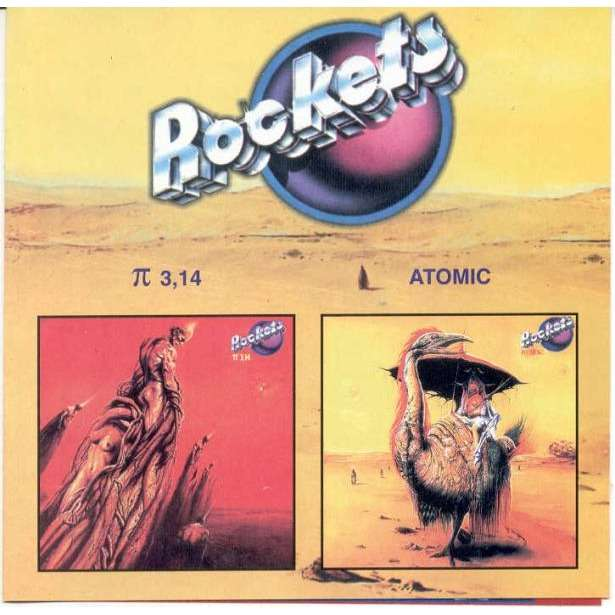 Rockets π 3,14 / Atomic (Russian-only 2000 Ltd 16-trk 2album in 1CD unique ps)