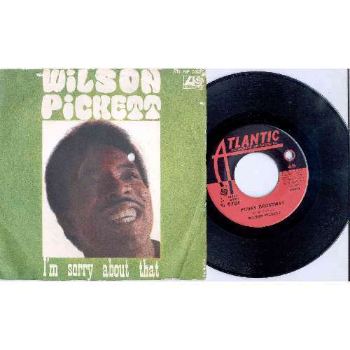 Wilson Pickett I'M SORRY ABOUT THAT (ITALIAN 1967 2-TRK 7 GREAT PS)