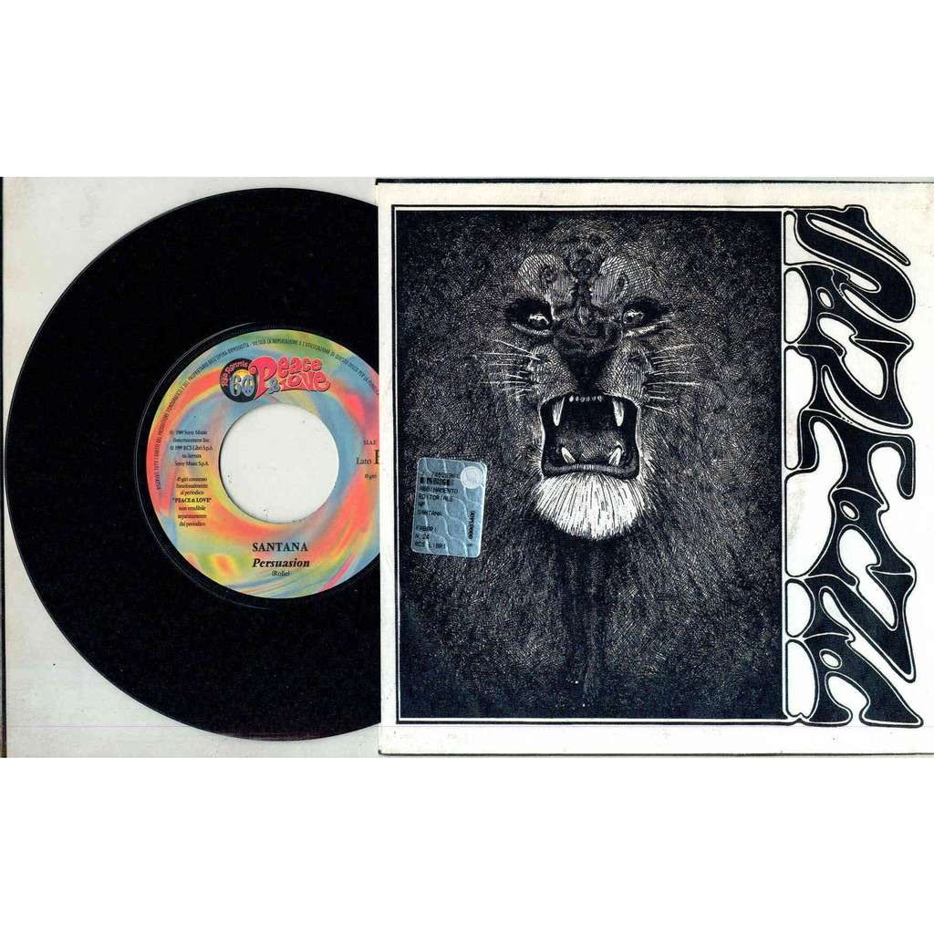 Santana Jingo (Italian 1999 'Piece & Love' 2-trk promo 7single full ps)