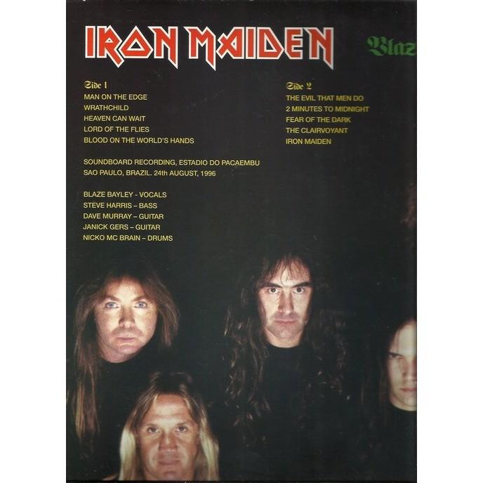 iron maiden blaze no bresil