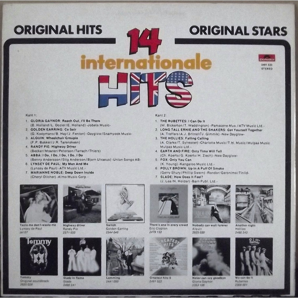 Slade, Abba, Fox, Earth wind and fire... Various 14 Internationale Hits