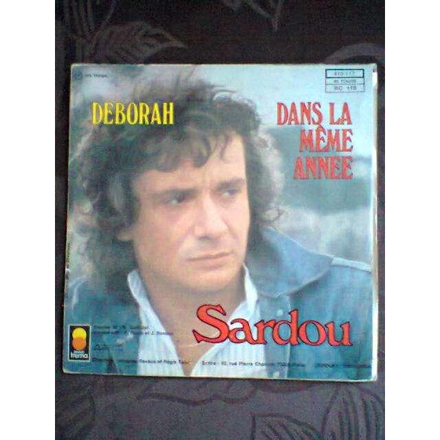 Michel Sardou Deborah / Dans la même année