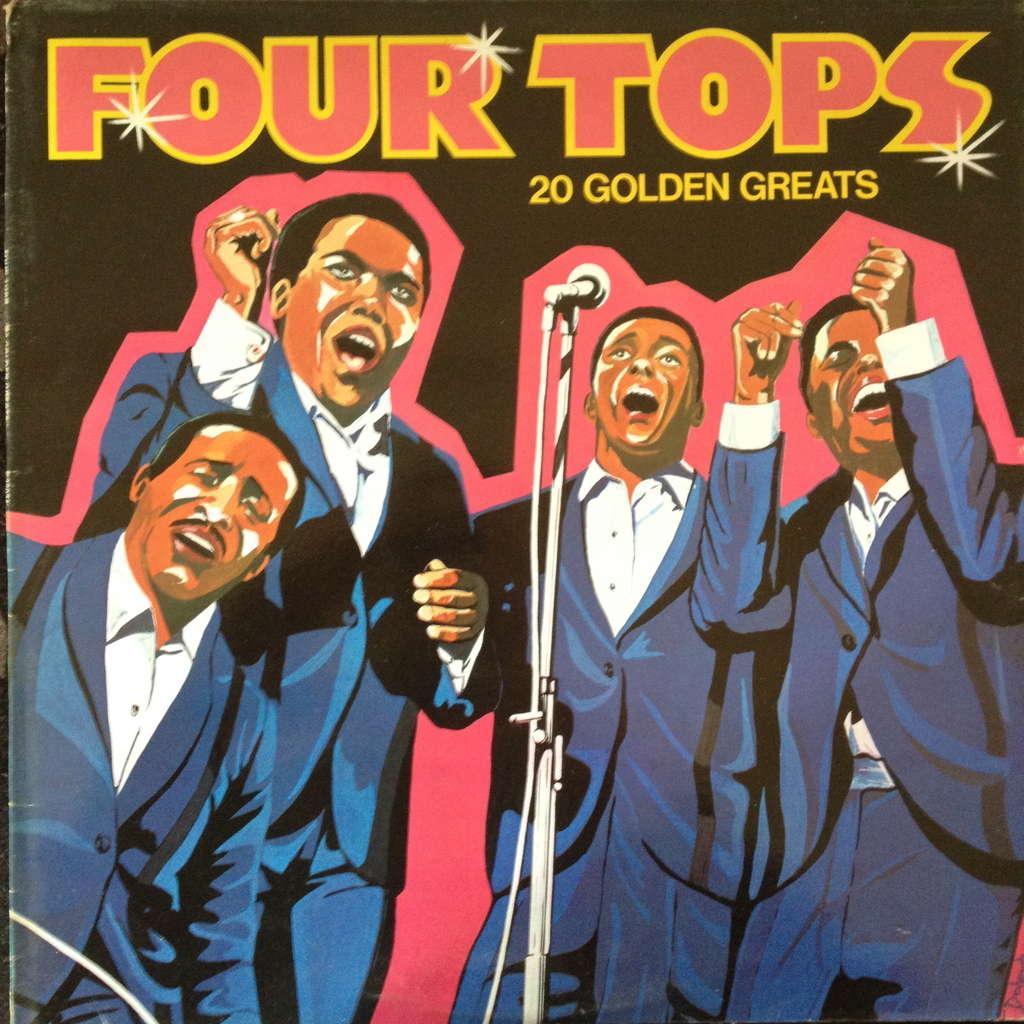 four tops 20 golden greats