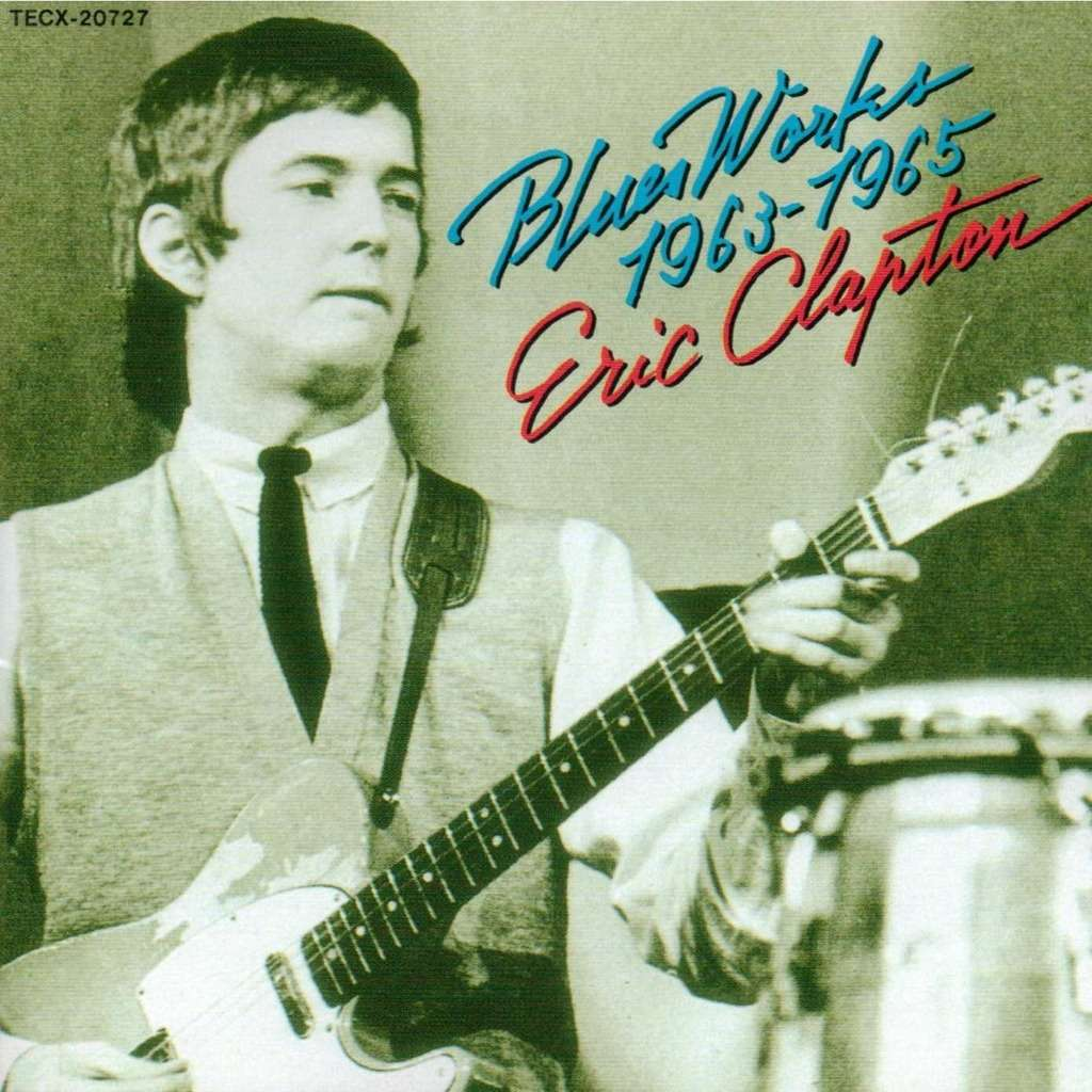 Eric Clapton Blues Works 1963 - 65 (japanese press)