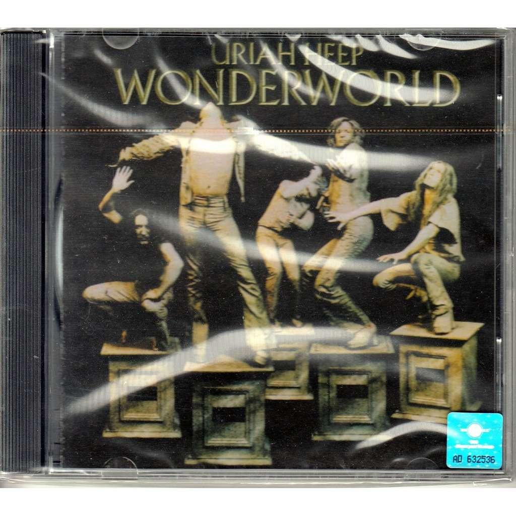 Wonderworld By Uriah Heep Cd With Rarervnarodru Ref 117470490