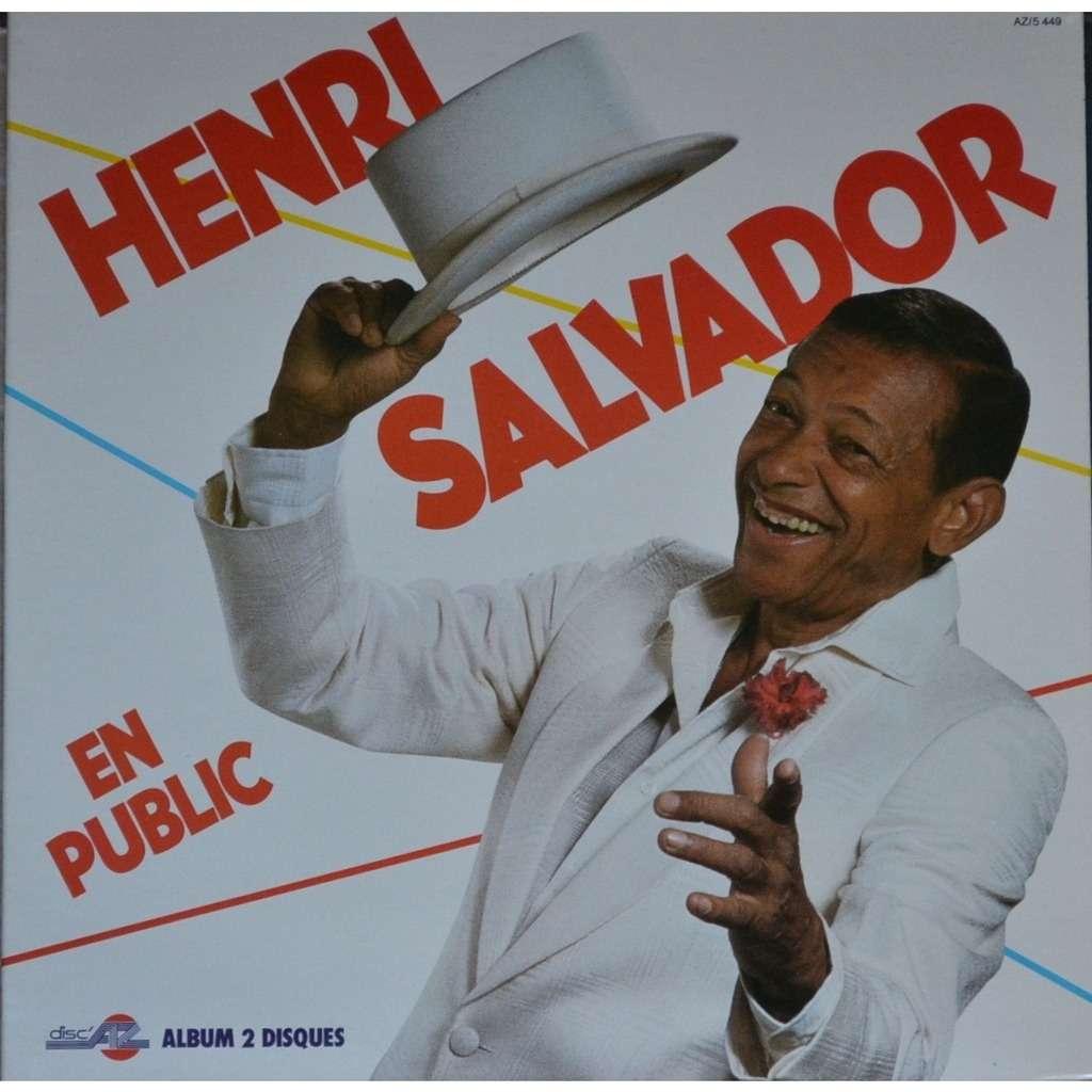 HENRI SALVADOR en public - A PANTIN