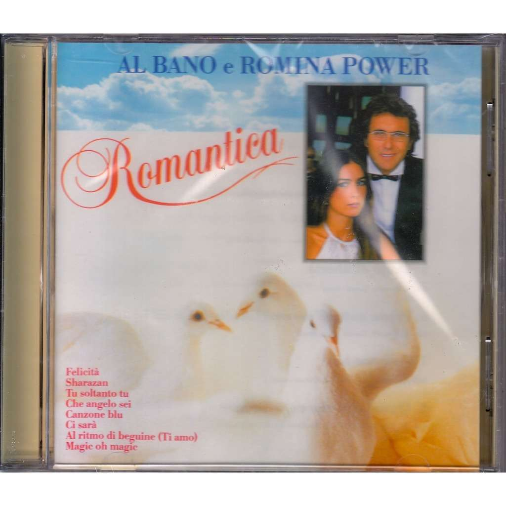 Romantica by al bano romina power cd with rarervnarodru for Al bano romina power