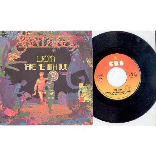 Santana EUROPA (ITALIAN 1976 2-TRK 7 FULL UNIQUE PS)