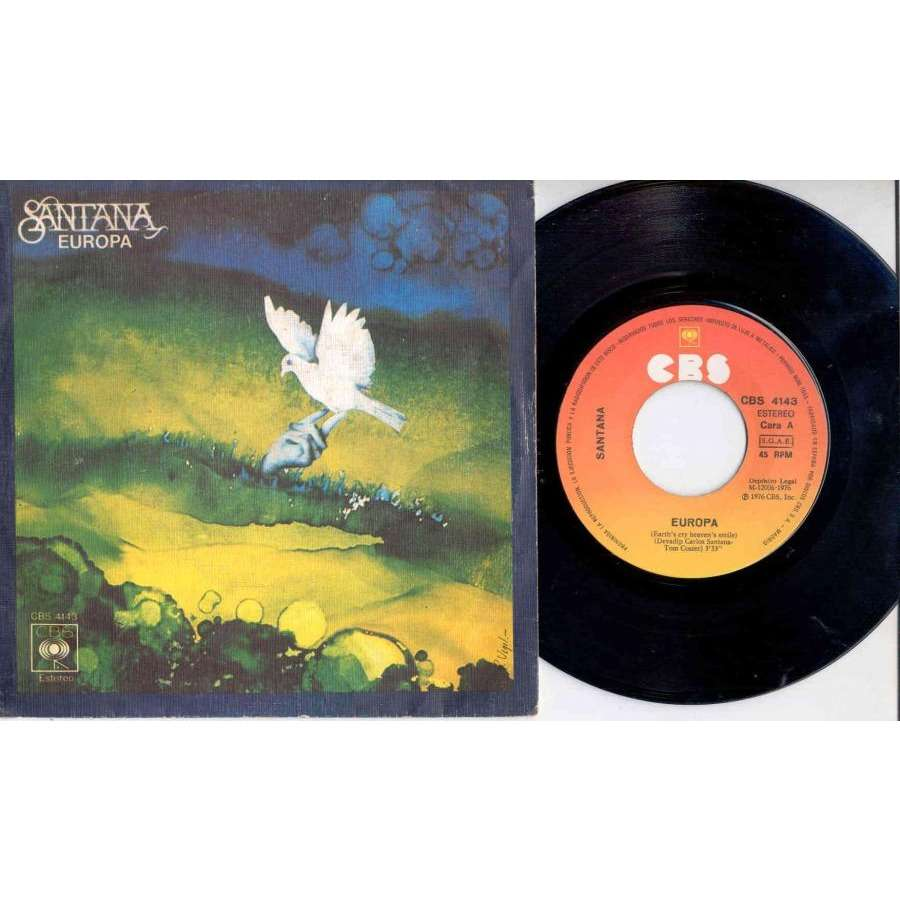 Santana EUROPA (SPANISH 1976 2-TRK 7 GREAT FULL PS)