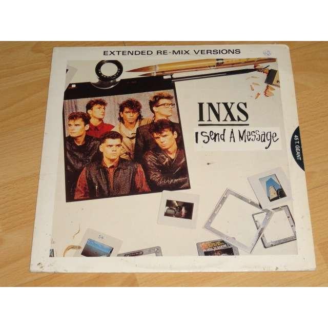 inxs i send a message