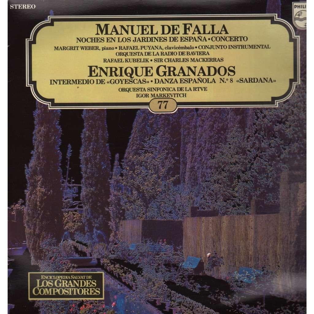 Los grandes compositores 77 manuel de falla noches en los jardines de espa a enrique granados - Noche en los jardines de espana ...