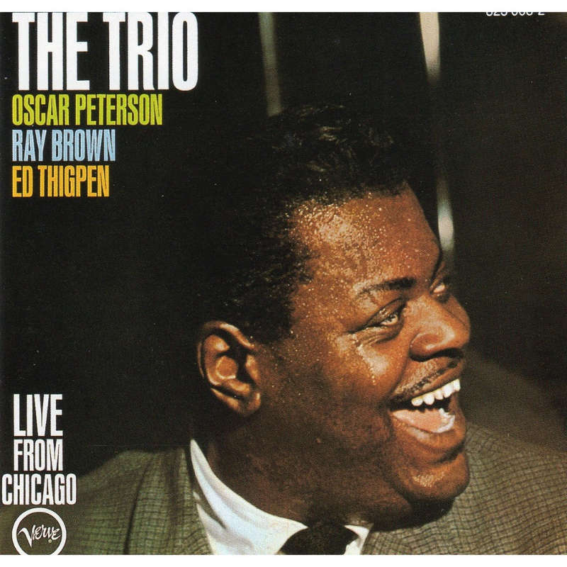 The Trio Live From Chicago By Oscar Peterson Trio Cd