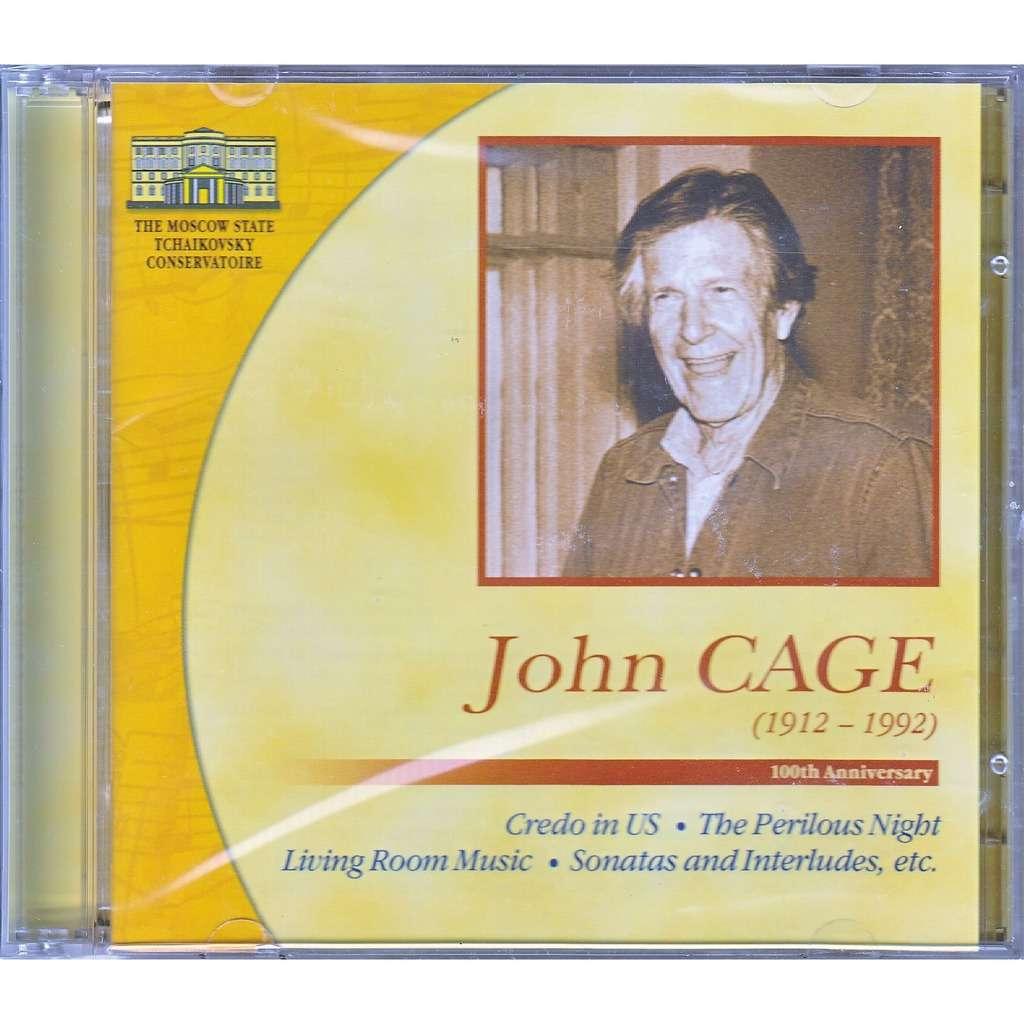 Live John Cage 100th Anniversary Credo In Us Perilous Night