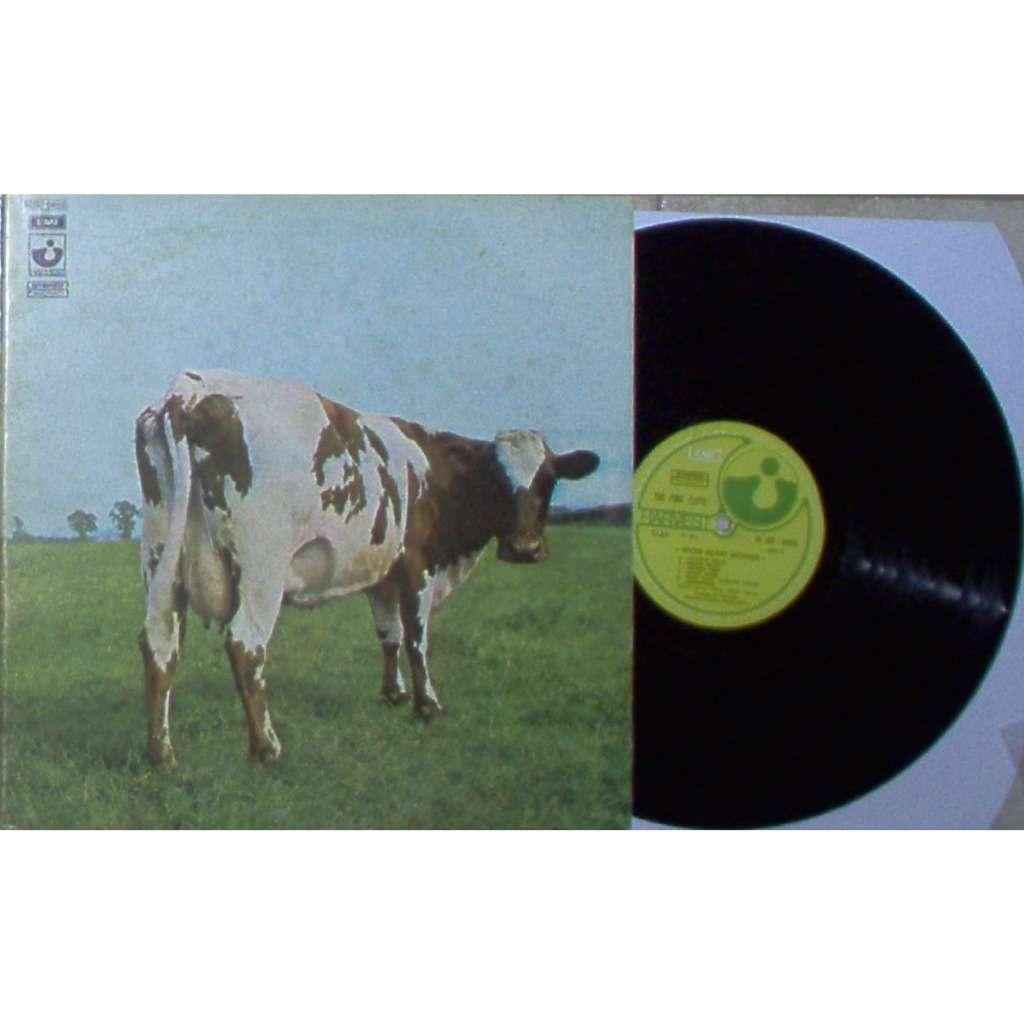 Pink Floyd Atom Heart Mother (Italian 1970 5-trk lp on Harvest lbl full gf ps)