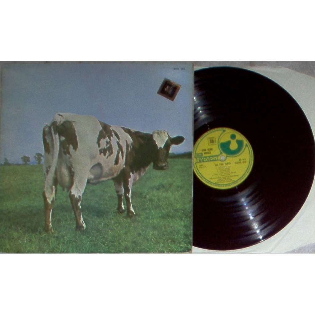 Pink Floyd Atom Heart Mother (Brazil 1972 original Ltd 'Quadraphonic' issue LP unique 'SQ' stickered gf ps)