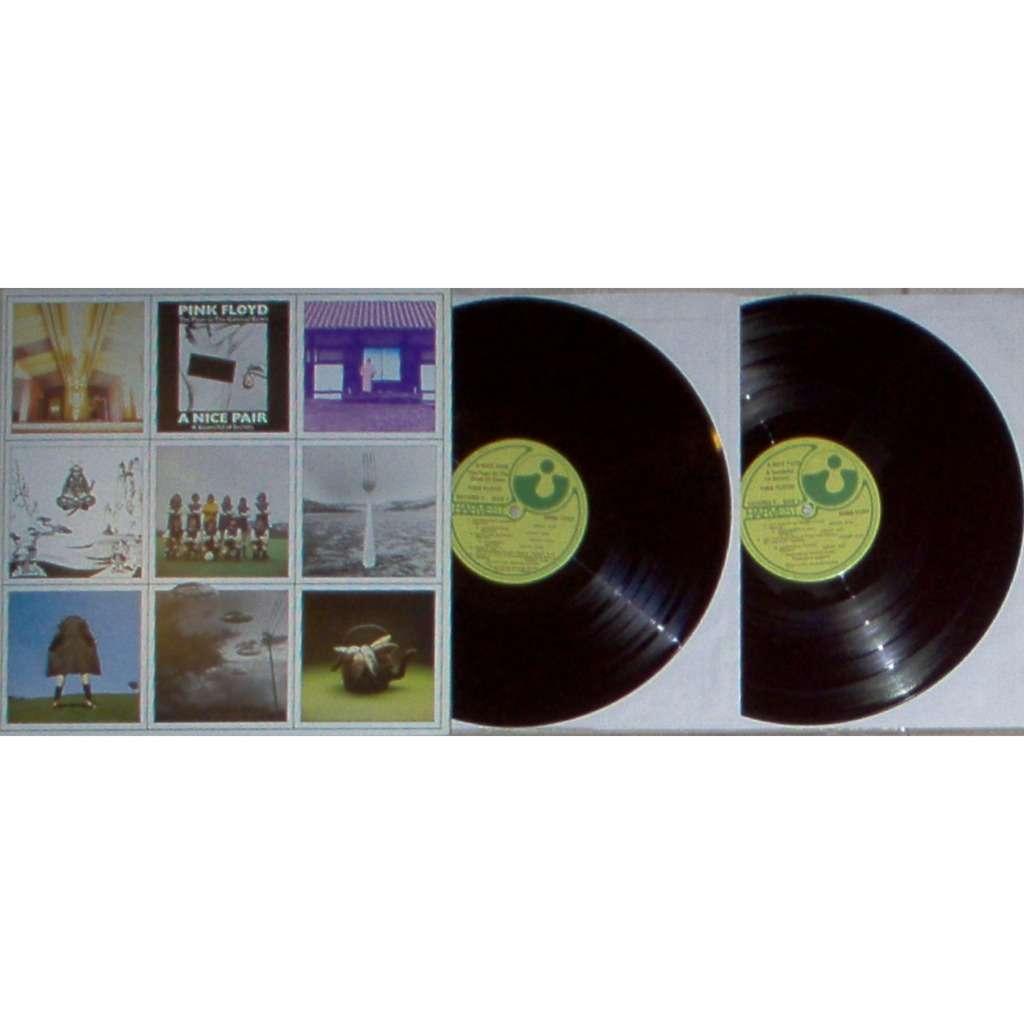 Pink Floyd A NICE PAIR (CANADA 1973 ORIGINAL 2LP UNIQUE 'CENSORED' GF PS)
